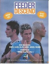 Feeder Descend Trade Ad Poster for Polythene Cd 1998