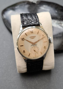 Elegant  restored Longines Flagship wristwatch (circa 1950-60s)