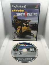 Ski-Doo Snow X Racing - Case and Game Disc - Playstation 2 PS2