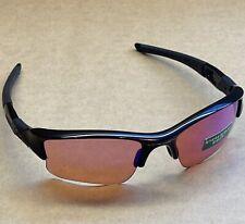 Oakley Flak Jacket XLJ Sunglasses Polished Black Frame Prizm Golf Lens #57168