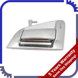 For Nissan 370Z Satin Chrome 2009-2016 Front R Outside Door Handle W/O Keyhole