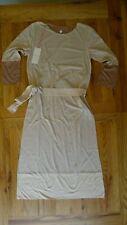 New Orla Kiely beige jersey dress size 2 - sample