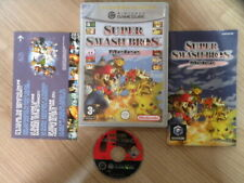Nintendo Gamecube Game SUPER SMASH BROS MELEE PLAYERS PC Complete FREE Ship B