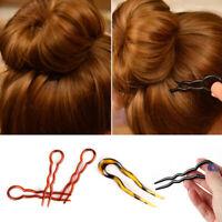 Hair Fork Hair Accessories Hairpin  U Shape Hair Clip Plastic  Hair Stick