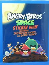 Angry Birds Space Sticker Book 140 Stickers 5 Scenes 2012 GM2209