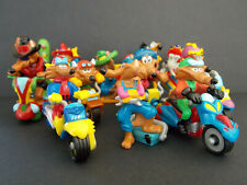 Lot série complète Kinder les 10 Motocoyotes France 2003 + 1 BPZ +  1 Magic Code