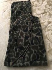 Adult Polar Fleece Hood For Snow Rain Wind Camo Camoflage