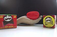 Original Pringles Pop Box RED Lunch Box NEW in original bow tie  Box 1980