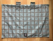 Balboa Baby Car Seat Canopy Cover Universal Blanket Reversible Blue Plaid