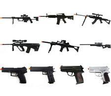 10 x USED AIRSOFT GUN SHOTGUN PISTOL SNIPER RIFLE GUN LOT SPRING ELECTRIC AEG BB