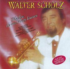 WALTER SCHOLZ : MELODIEN, DIE VON HERZEN KOMMEN / CD - TOP-ZUSTAND