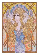 Irish IRISH FANTASY ART PRINT Faerie Symphony 8x11 By Jim FitzPatrick Fairies