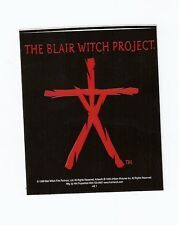 THE BLAIR WITCH PROJECT Body Stick Logo NEW Sticker
