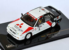IXO Mitsubishi Galant VR-4 #5 A. Vatanen - B Belglund RAC Rally 1988 RAC224 1/43