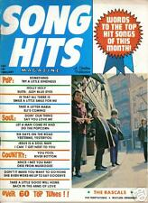 SONG HITS MAGAZINE Feb 1970 Temptations WAYLON Rascals