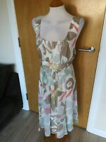 Ladies Dress Size 18 FENN WRIGHT MANSON Ivory Chiffon Party Evening Wedding