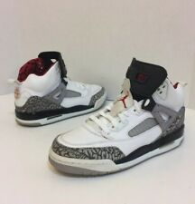 Air Jordan Spizike white cement gray basketball shoes youth size 6Y pre-owned