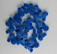 DCC Layout Track Bus - Blue Quick Connectors Pack of 30