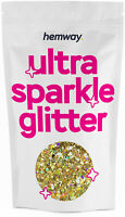 Large Gold Holographic Glitter 20ml 10g Chunky Mix Multi Dance Costume Flake
