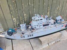 RC Schlachtschiff Kreuzer Army US 289 Robbe oder Graupner mit Motoren