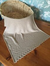 Beautiful  light weight 100% pure cashmere baby blanket.  col. Beige