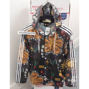 ADIDAS X PHARRELL WILLIAMS FESTIVAL DOO JACKET MULTI COLOR MENS SIZE MEDIUM