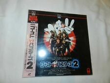 Ghostbusters 2 LaserDisc Laser Disc - Tested CLV w/ Spine Card