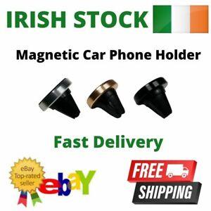 Car Phone Holder Magnetic Air Vent 360 Magnet Disc Universal Mobile Mount Kit