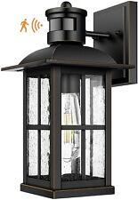 Motion Sensor Outdoor Light - Advanced Dusk to Dawn Exterior Lantern Fixtures Wa