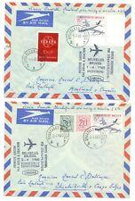 BELGIUM -1960 -- x SPEC FLIGHT CV = SABENA= --F/VF