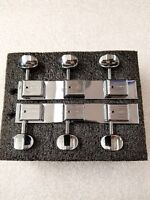 KLUSON KDLS-3-C TRADITIONAL STEEL GUITAR TUNERS FOR FENDER CHAMPION CHROME