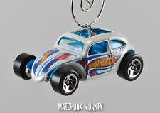 Custom Volkswagen Beetle Bug VW Christmas Ornament 1/64 Adorno Rally Herbie Love