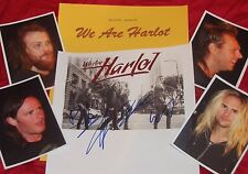 WE ARE HARLOT Autographed Photo & Photos- REAL Collectible
