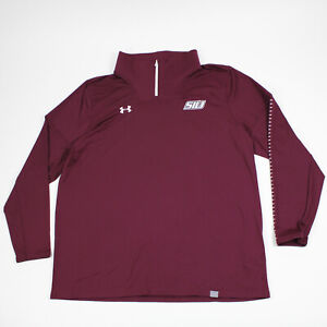 Southern Illinois Salukis Under Armour HeatGear Polo Men's New with Tags