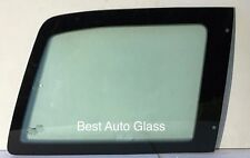 1989-1995 MAZDA MPV MINI VAN RIGHT REAR QUARTER WINDOW GLASS