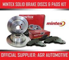 MINTEX REAR DISCS AND PADS 286mm FOR SAAB 9-3 CABRIOLET 2.0 I 131 BHP 1998-03