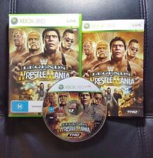 WWE Legends of Wrestlemania (Microsoft Xbox 360, 2009) Xbox 360 Game - FREE POST