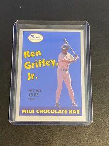 1989 Pacific KEN GRIFFEY JR. Rookie RC Candy Bar Blue Seattle Mariners HOF
