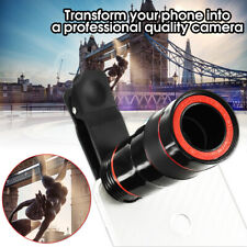 12x Optical Zoom Lens Telescope Telephoto Clip on For Mobile Cell Phone  US