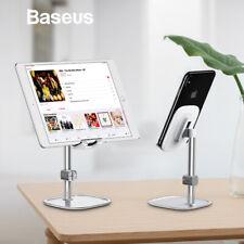 Baseus Adjustable Metal Desk Desktop Phone Stand Holder for iPhone XS MAX X iPad