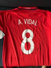 Chile Arturo Vidal Autographed Signed Brand New Jersey COA BNWT