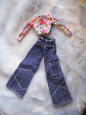 Barbie® Happenin' Hair Top & Raver Jeans Costume Only! Cool!