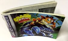 Game Boy Advance GBA LIBRETTO ISTRUZIONI INSTRUCTION BOOKLET CRASH OF THE TITANS