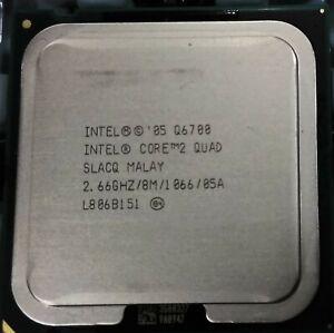 Intel BX80562Q6700 SLACQ Core 2 Quad CPU Q6700 8M Cache 2.66 GHz 1066 MHz NEW