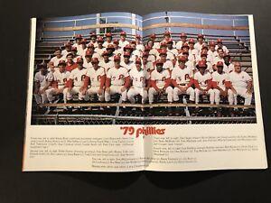 1979 PHILADELPHIA PHILLIES Yearbook SCHMIDT Tug CARLTON Bowa PETE ROSE Luzinski