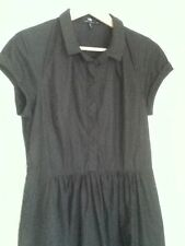 Cue Solid 100% Cotton Dresses for Women