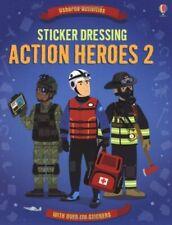 Sticker Dressing Action Heroes 2 (Usborne Sticker Dressing) By Lisa Jane Gilles
