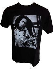 Bob Marley Dreadlocks T Shirt Rasta Music Guitar Singing Top Mens Large Cotton