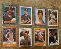 (8) Roberto Alomar 1988 1989 Score Fleer Topps Donruss Upper Rookie card lot RC
