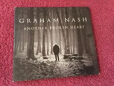 Graham Nash Another Broken Heart CD Single 2 versions 2016 Blue Castle Records